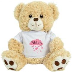 Abbey Valentine Bear