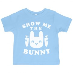 Show Me the Bunny Toddler Tee
