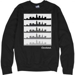 Cleveland fade skyline