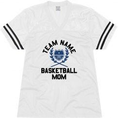 Custom Team Mascot Basketball Mom