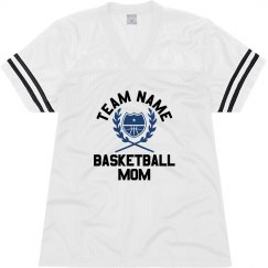 Custom Team Mascot Basketball Mom