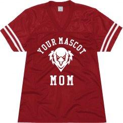 Custom School Mascot Mom Jersey