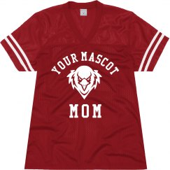 Custom School Mascot Mom Jersey