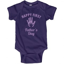 Happy First Father's Day!