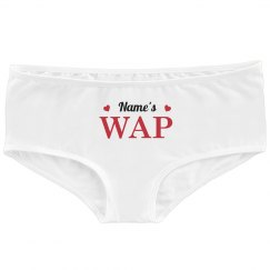 Name's WAP Custom Underwear