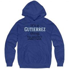 Its a Gutierrez thing