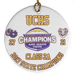 2017 State Championship ornamenent