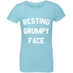 I Suffer From Resting Grumpy Face