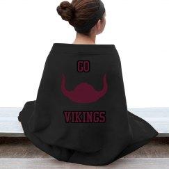 Vikings Stadium Blanket