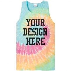 Create a Custom Tie-Dye Tank