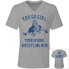 Girl Wrestler Mother!