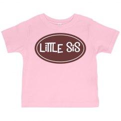 Little Sis Toddler Tshirt Tee