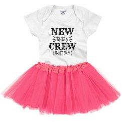 New to the Crew Custom Onesie