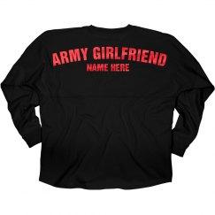 Metallic Red Custom Army Girlfriend