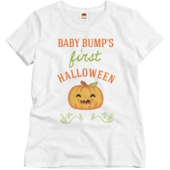 Baby Bump's First Halloween