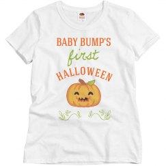 Baby Bump's First Halloween
