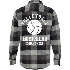 Plaid Volleyball Boyfriend