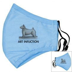 Art Infliction Face Mask
