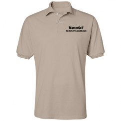 MasterGolf - Unisex Jerzees Spotshield Blend Polo Shirt