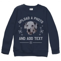 Sweaterize It Photo Upload Youth Ugly Sweaters