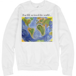 His world sweatshirt