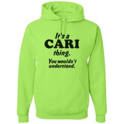 It's a Cari thing!