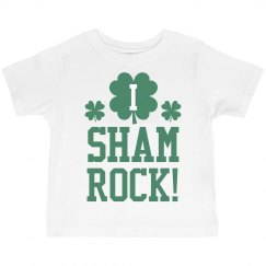 I Shamrock St Pattys Kid Tees