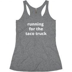 running for ...
