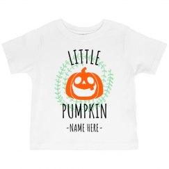 Customizable Little Pumpkin Design