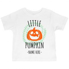 Customizable Little Pumpkin Design