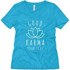 Custom Good Karma Yoga