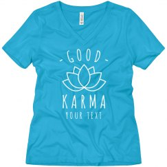 Custom Good Karma Yoga