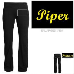 Piper, yoga pants