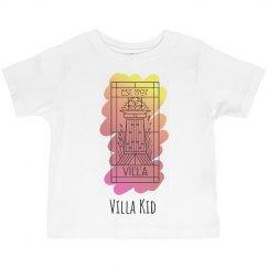 Toddler Villa Kid Sunrise Paint Logo Tee