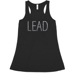 LEAD Flowy Metallic Dancer Tank