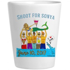 Sonya shot glass