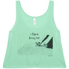 I Support Pulling Out - Women - Flowy Boxy Tank