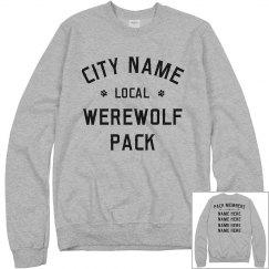 Custom Your Local Werewolf Pack