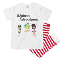 Alphee Adventures Pajama Set