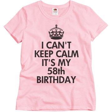 58th Birthday