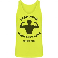 Customized Mud Run Team