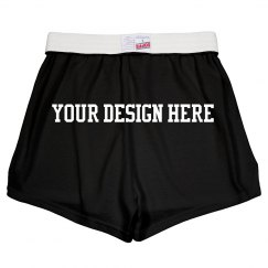 Customize These Cheer Shorts