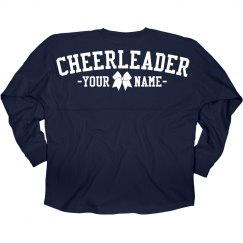 Custom Cheer Girl Jersey