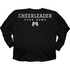 Shiny Cheerleader Game Day Jersey