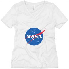 Trendy Simple NASA Logo
