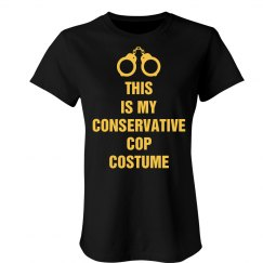 Conservative Cop Costume