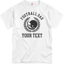 Football Dad Custom Shirts