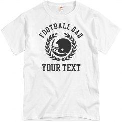 Football Dad Custom Shirts