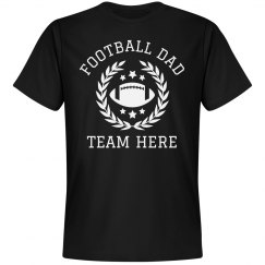 Custom Football Dad Team Name