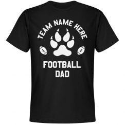 Football Dad Custom Team/Mascot